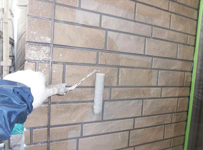 外壁塗装サイディングクリアー仕上げ