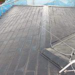 一見ごく普通の塗装済みの屋根です