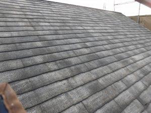 カラーベスト屋根 洗浄後 塗装 きれい