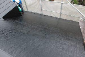 屋根塗装 カラーベスト ヤネMシリコン ブラック