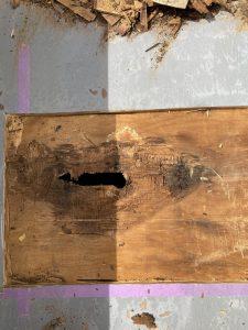 相模原市中央区 外壁塗装 バルコニー床部分補修