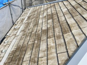 屋根塗装 プライマー 数回塗布 飴色