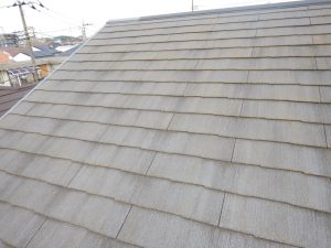 カラーベスト屋根,新規塗り替え,回向前