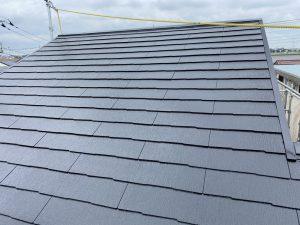 カラーベスト屋根,新規塗り替え,完成